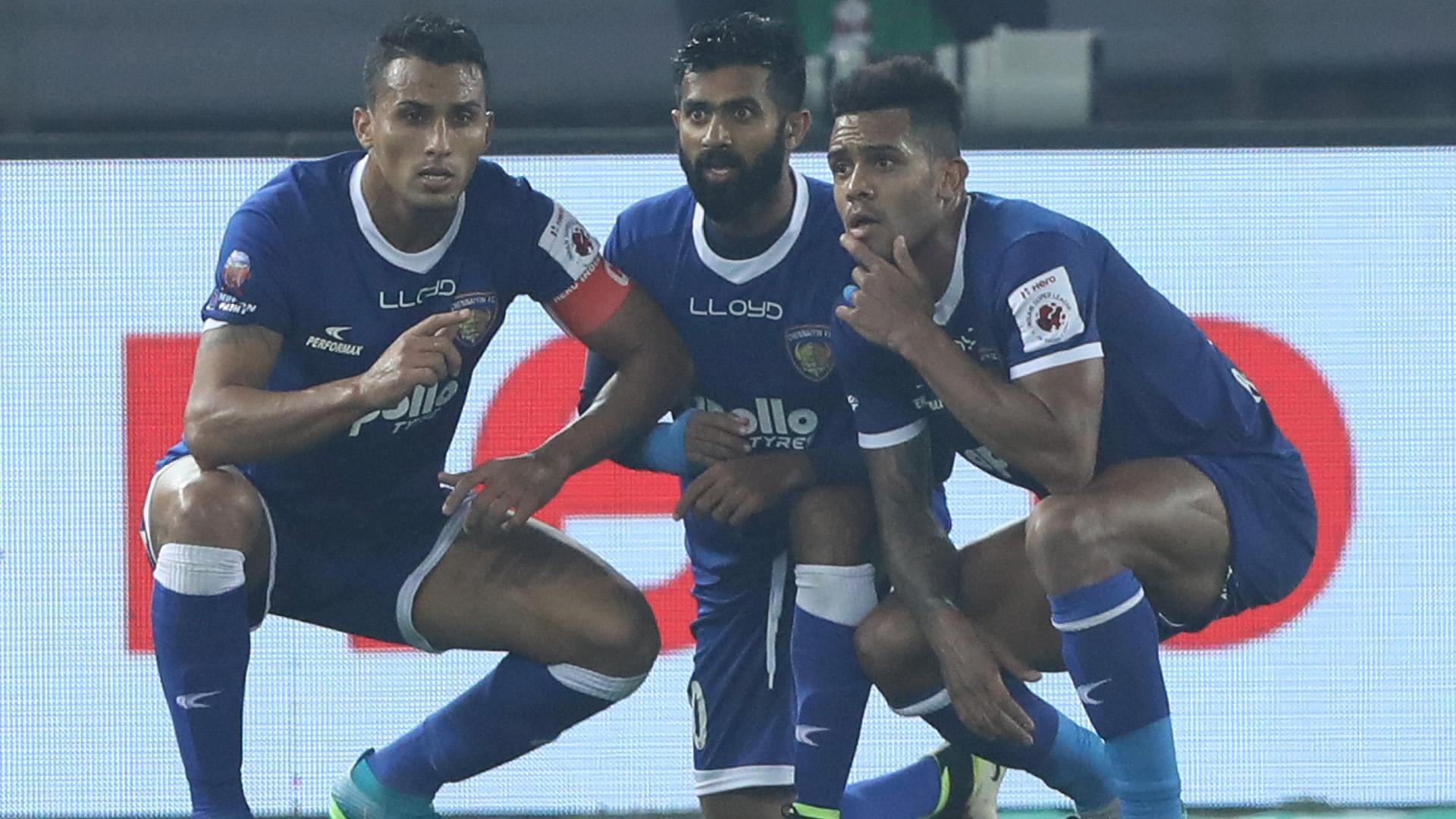 Mailson Alves Delhi Dynamos FC Chennaiyin FC ISL 4 2017/2018