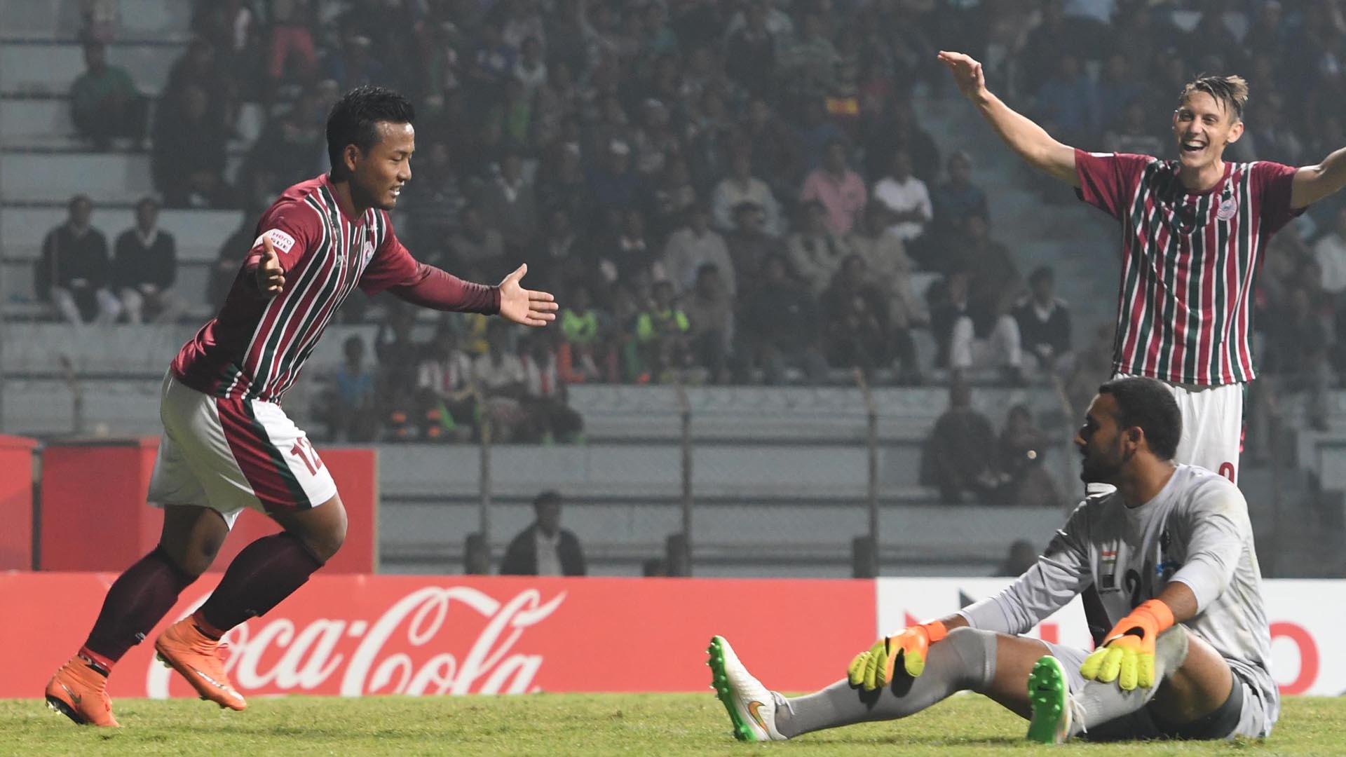 Jeje Lalpekhlua Mohun Bagan Minerva Punjab FC I-League 2017