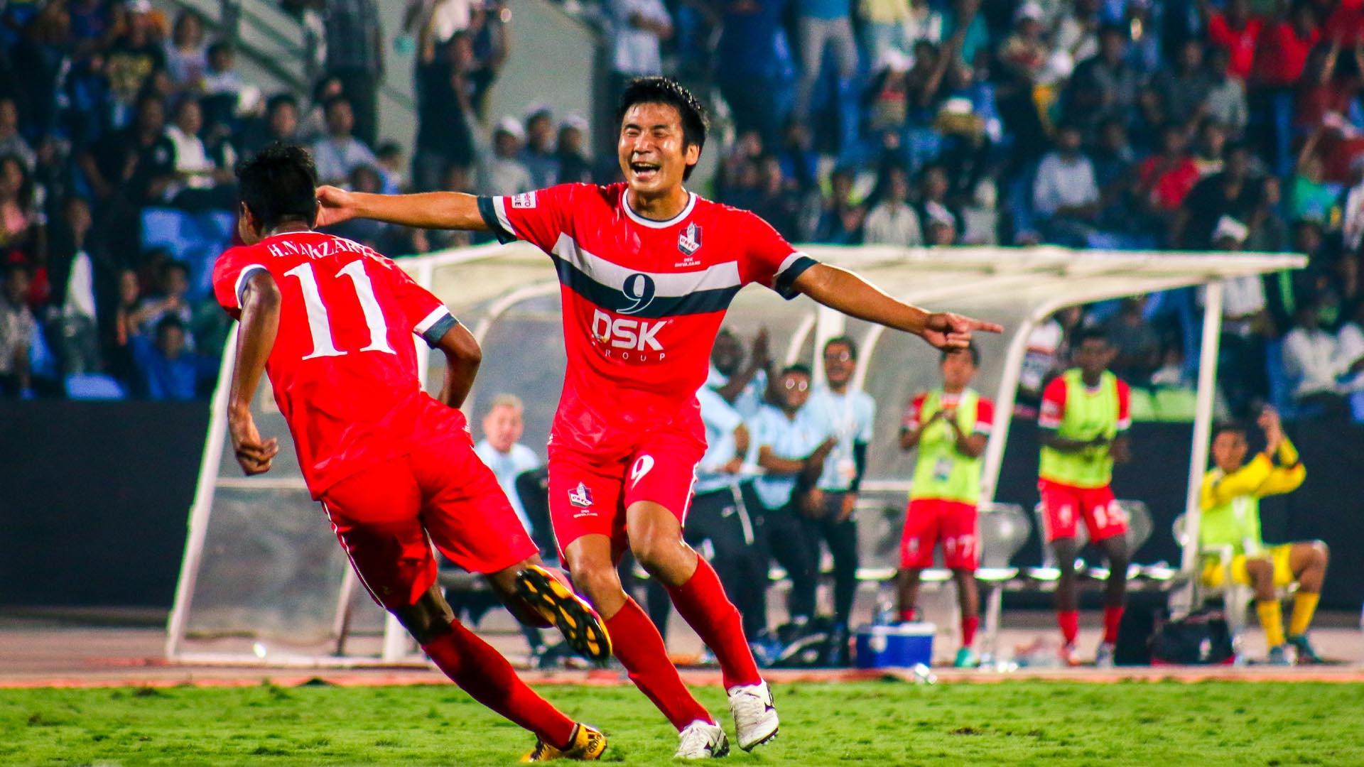 Seong-Yong Kim DSK Shivajians FC Bengaluru FC I-League 2017