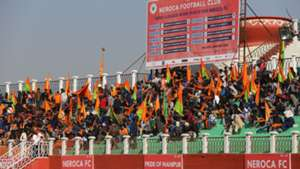 NEROCA FC supporters I-League 2017/2018