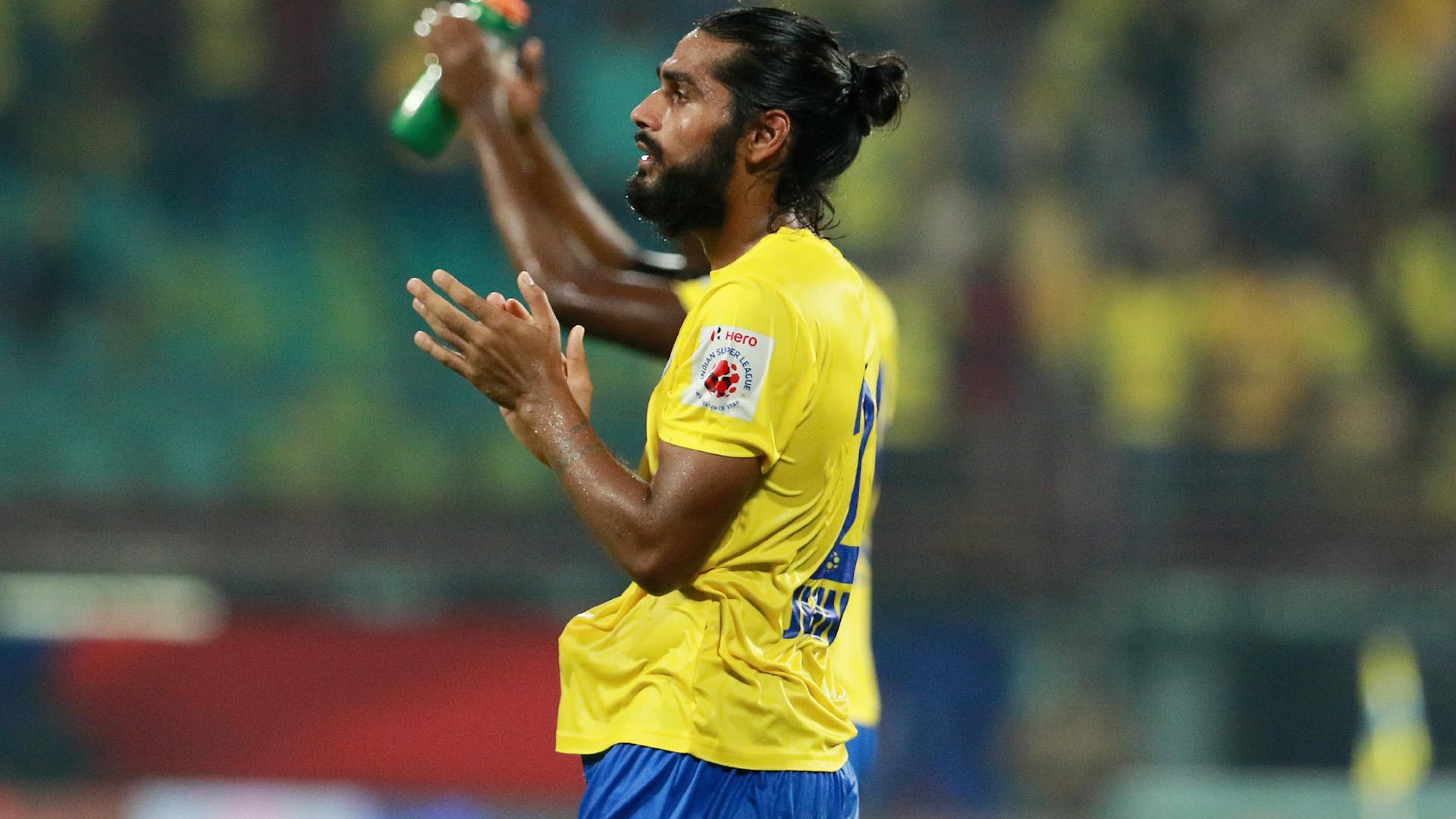 Sandesh Jhingan Kerala Blasters FC Delhi Dynamos FC ISL season 3 2016