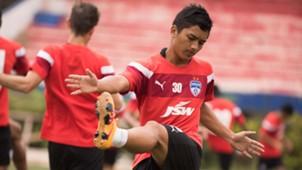 Malsawmzuala Bengaluru FC training session