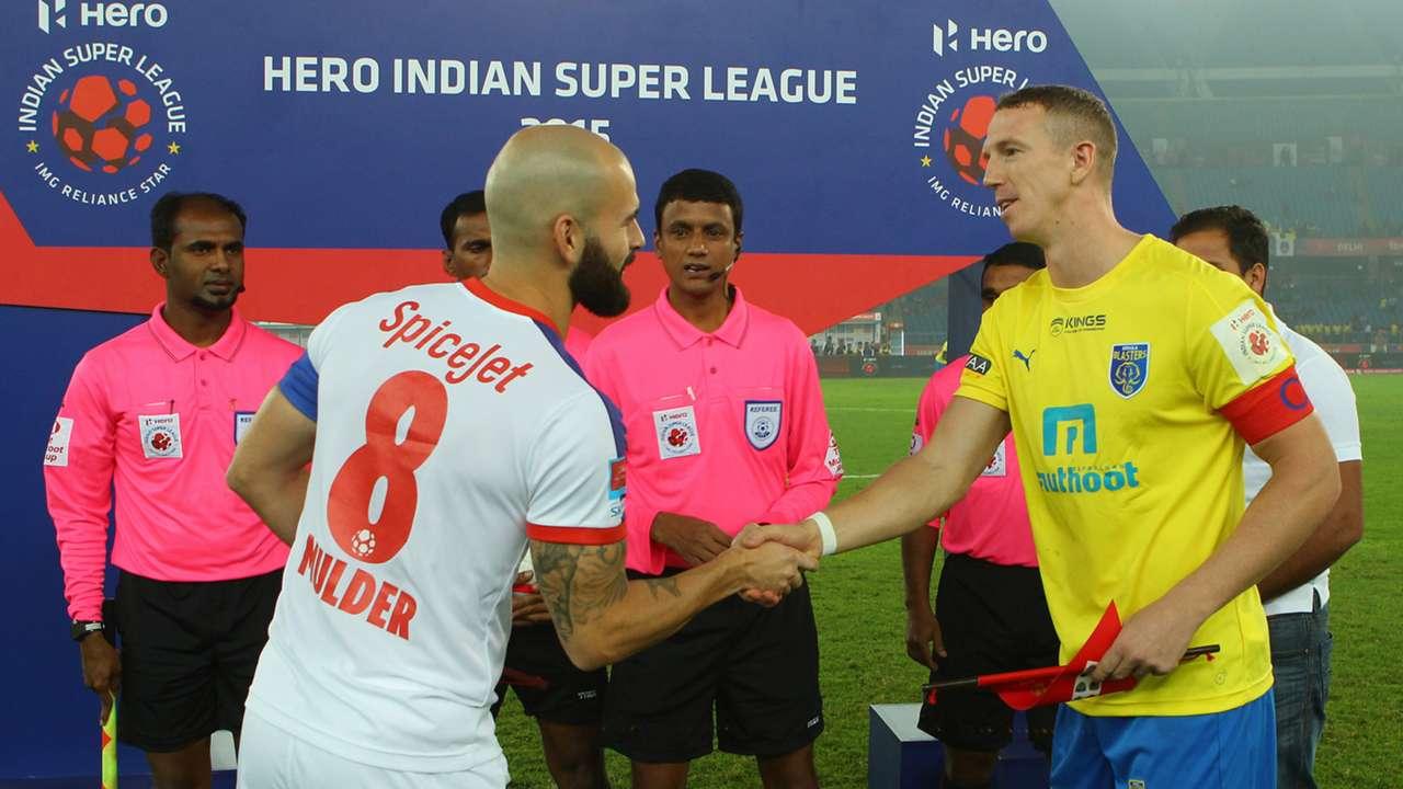 Hans Mulder Peter Ramage Delhi Dynamos FC Kerala Blasters FC ISL season 2