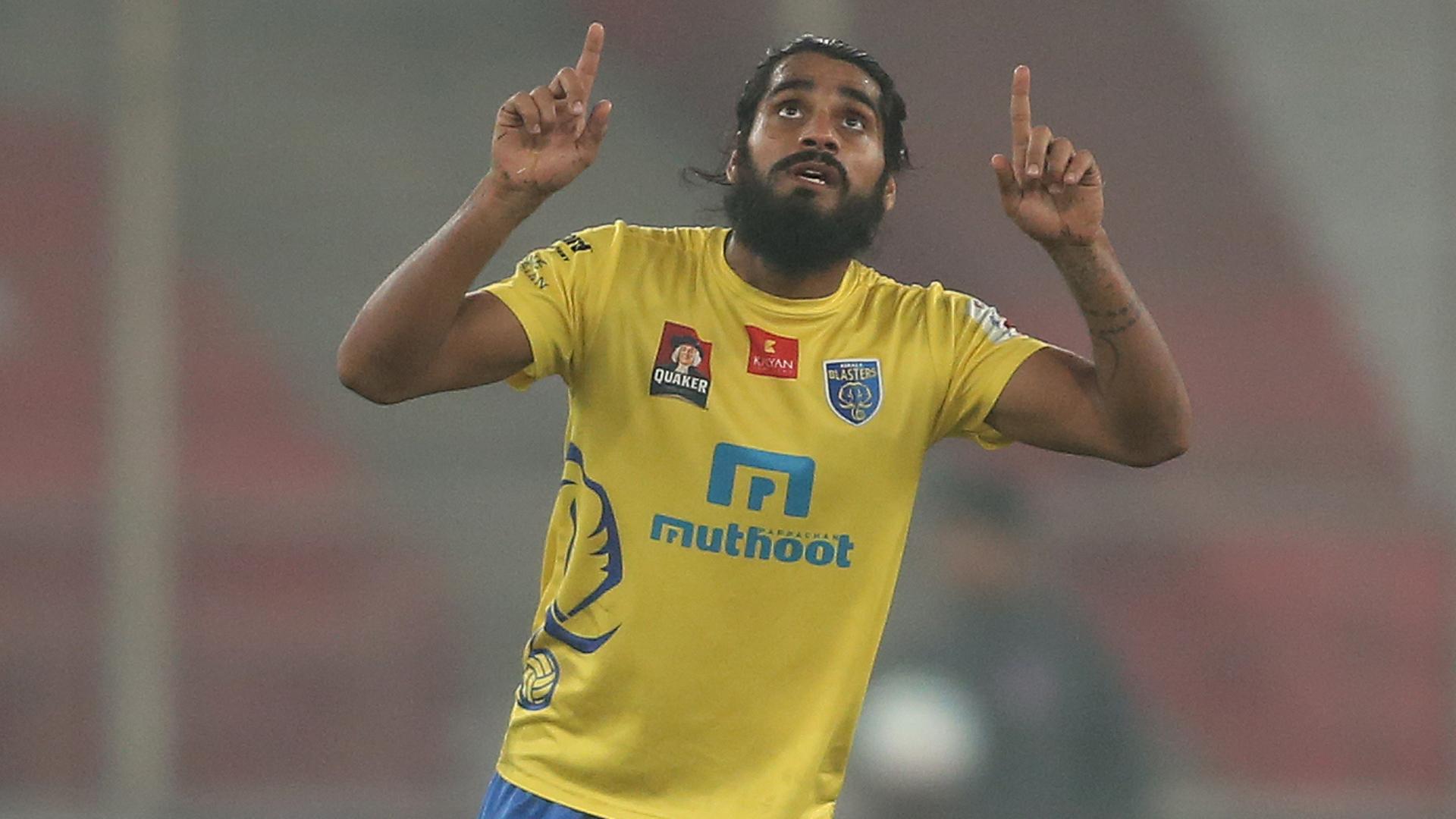 Sandesh Jhingan Delhi Dynamos FC Kerala Blasters FC ISL semi final season 3 2016