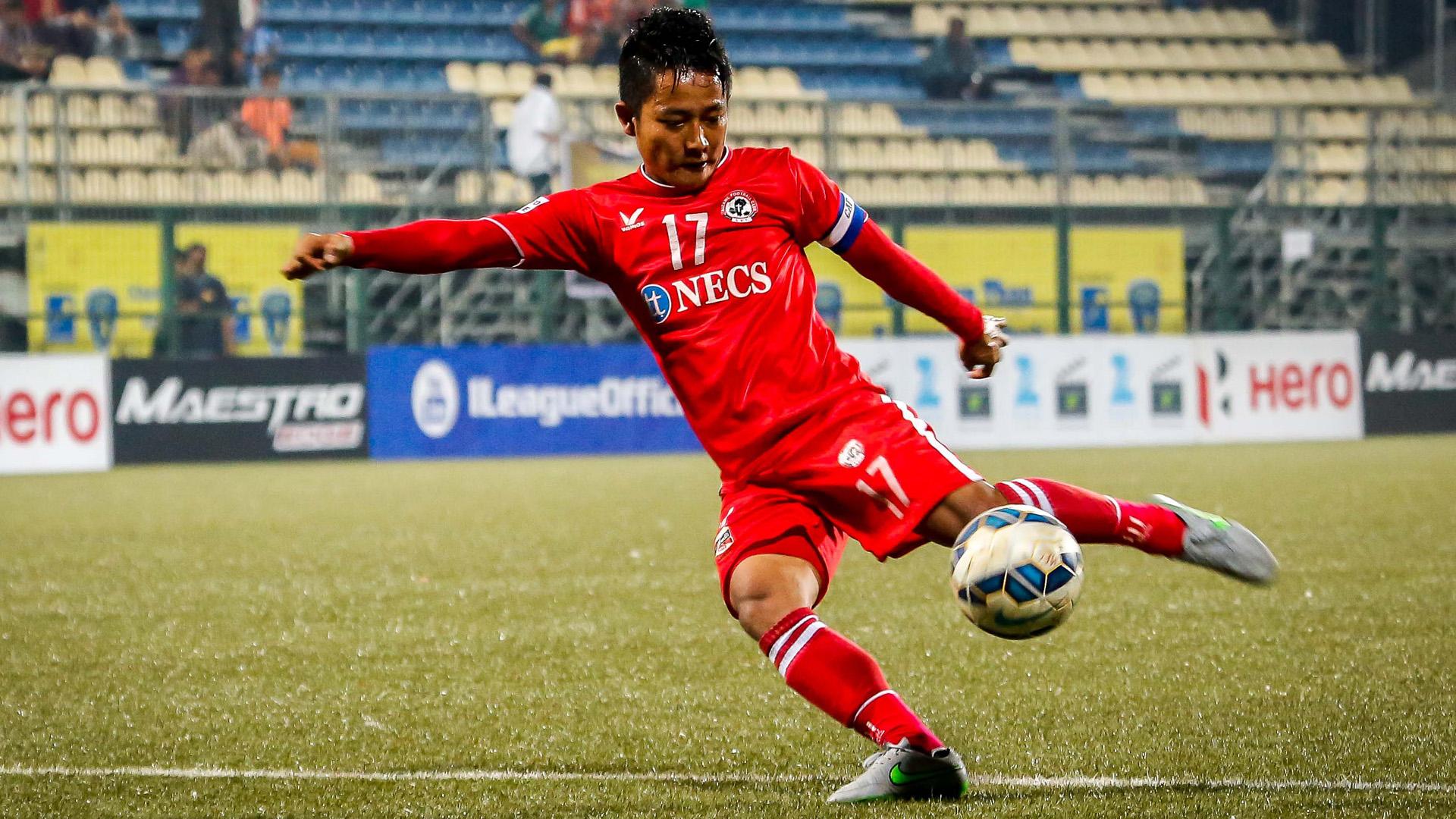 Lalrinmuana Mumbai FC Aizawl FC I-League