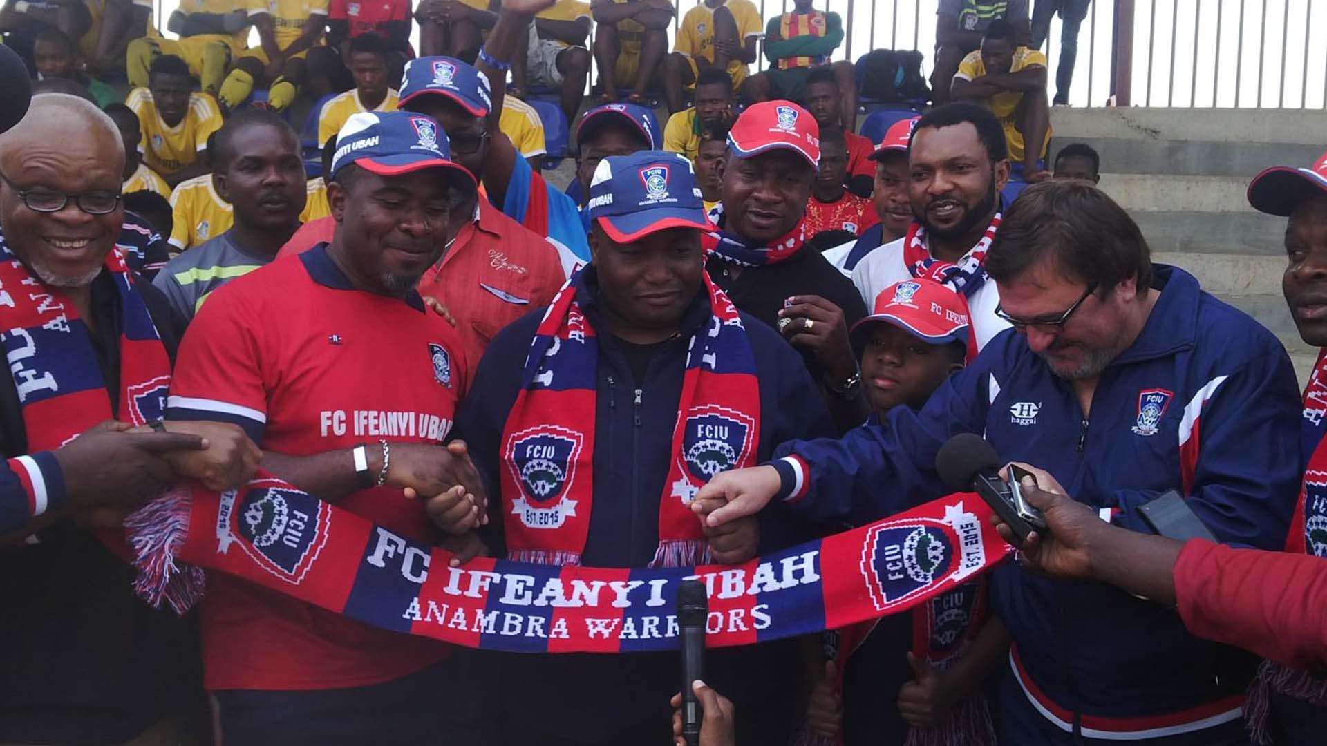 Dr.Patrick Ifeanyi Ubah Owner of Ifeanyi Ubah FC