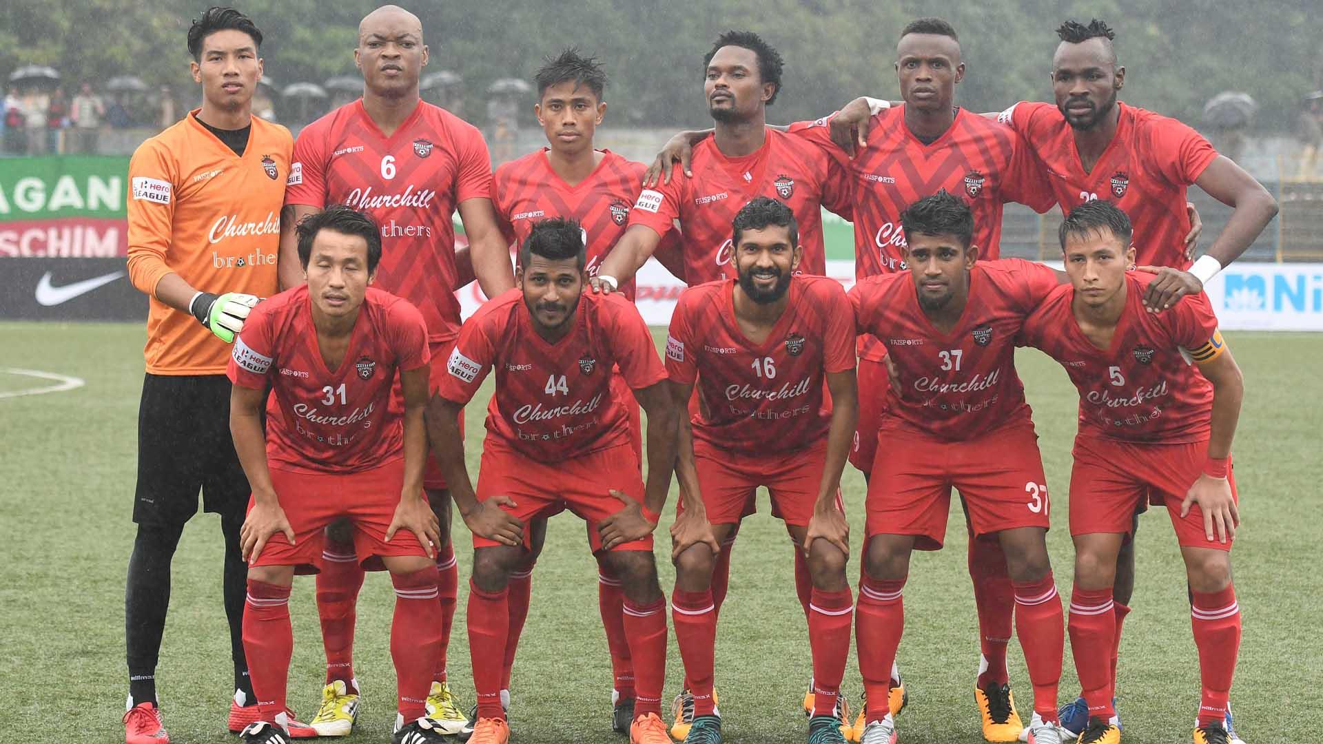 Churchill Brothers SC I-League 2017/2018