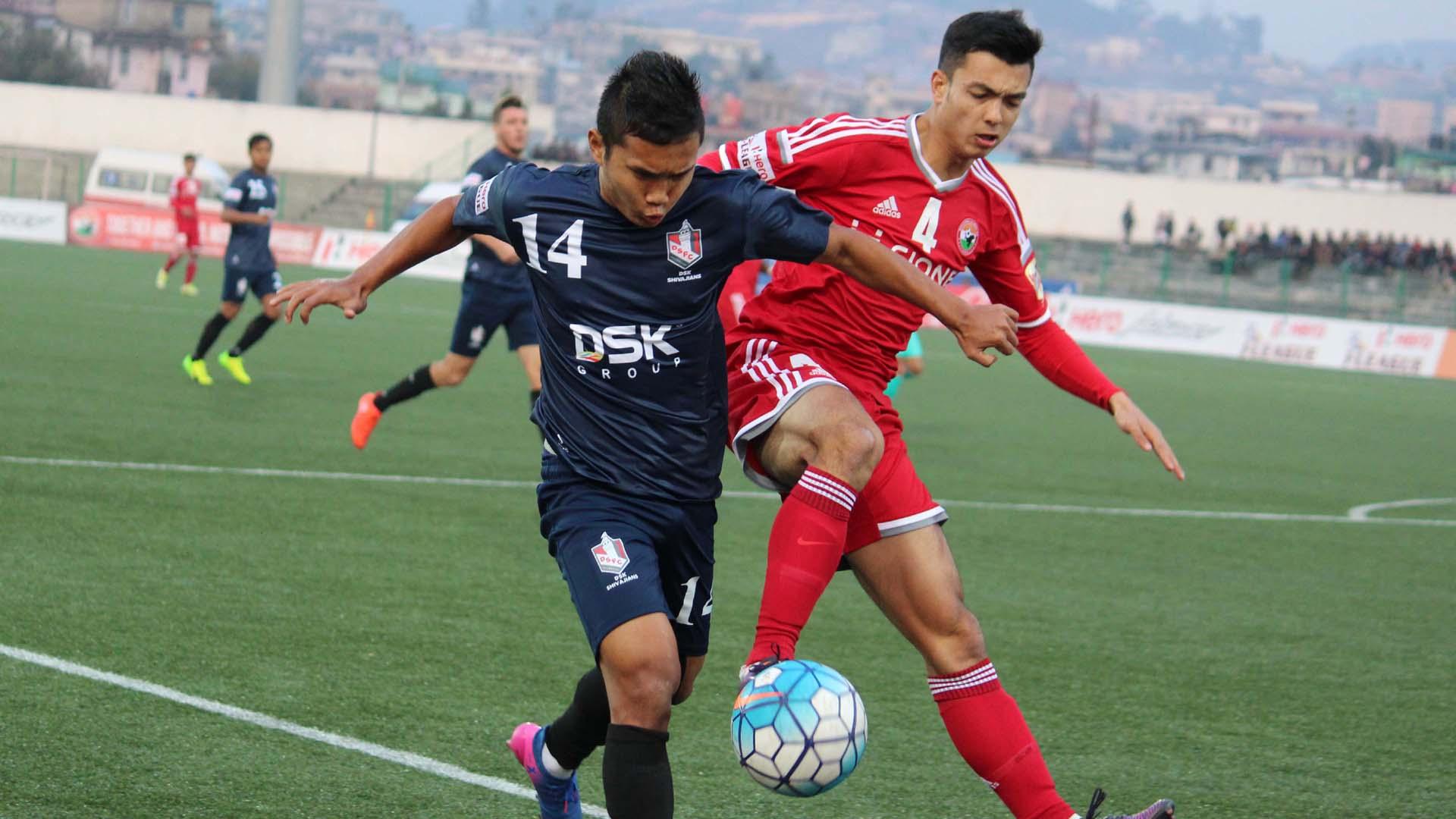 Jerry Lalrinzuala Shillong Lajong FC DSK Shivajians FC I-League 2017