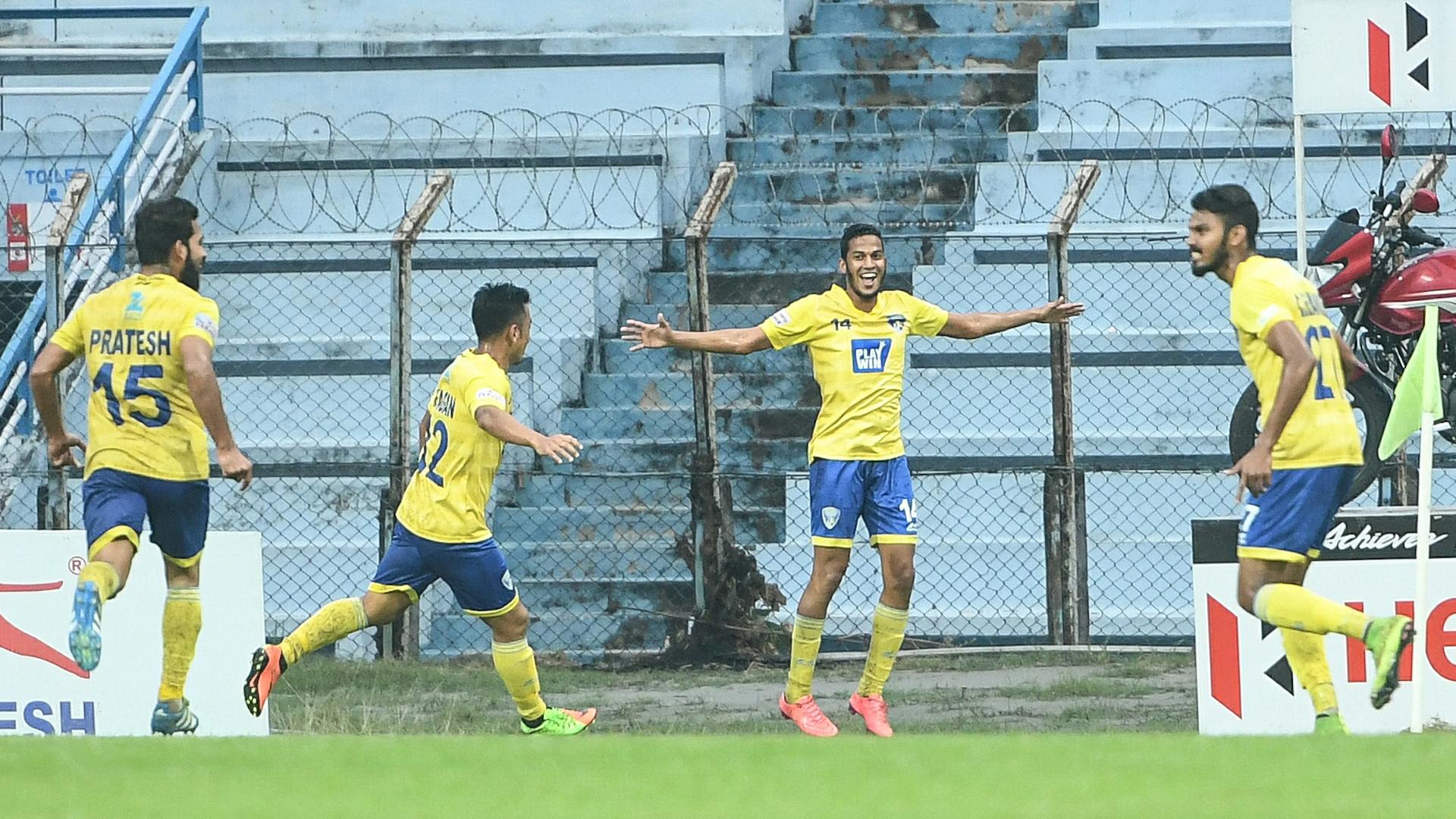 Victorino Fernandes Mohun Bagan Mumbai FC I-League 2017