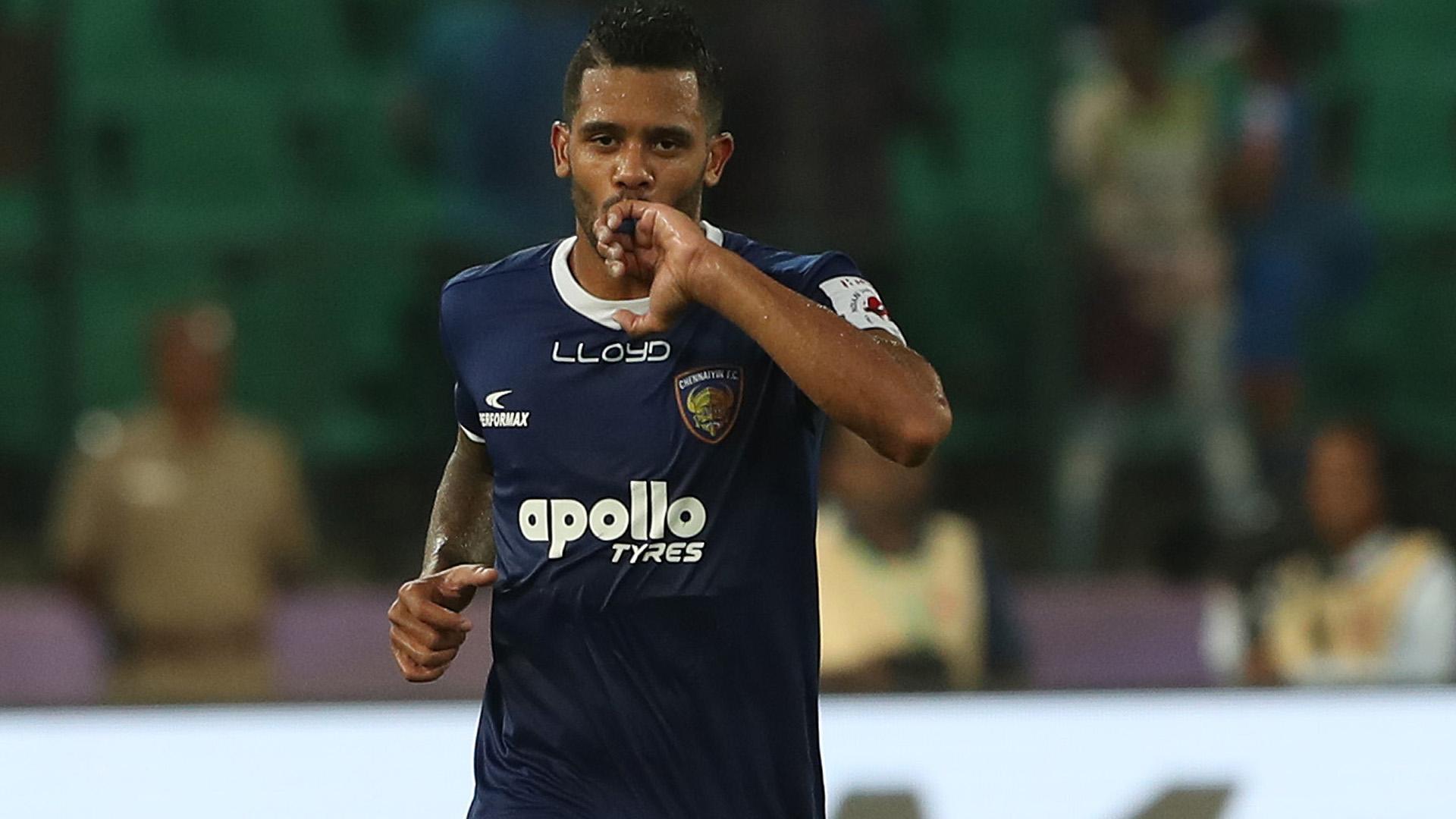 Raphael Augusto Chennaiyin FC FC Goa ISL season 4 2017/2018
