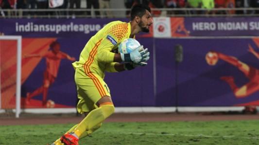 Vishal Kaith FC Pune City Jamshedpur FC ISL 4 2017/2018