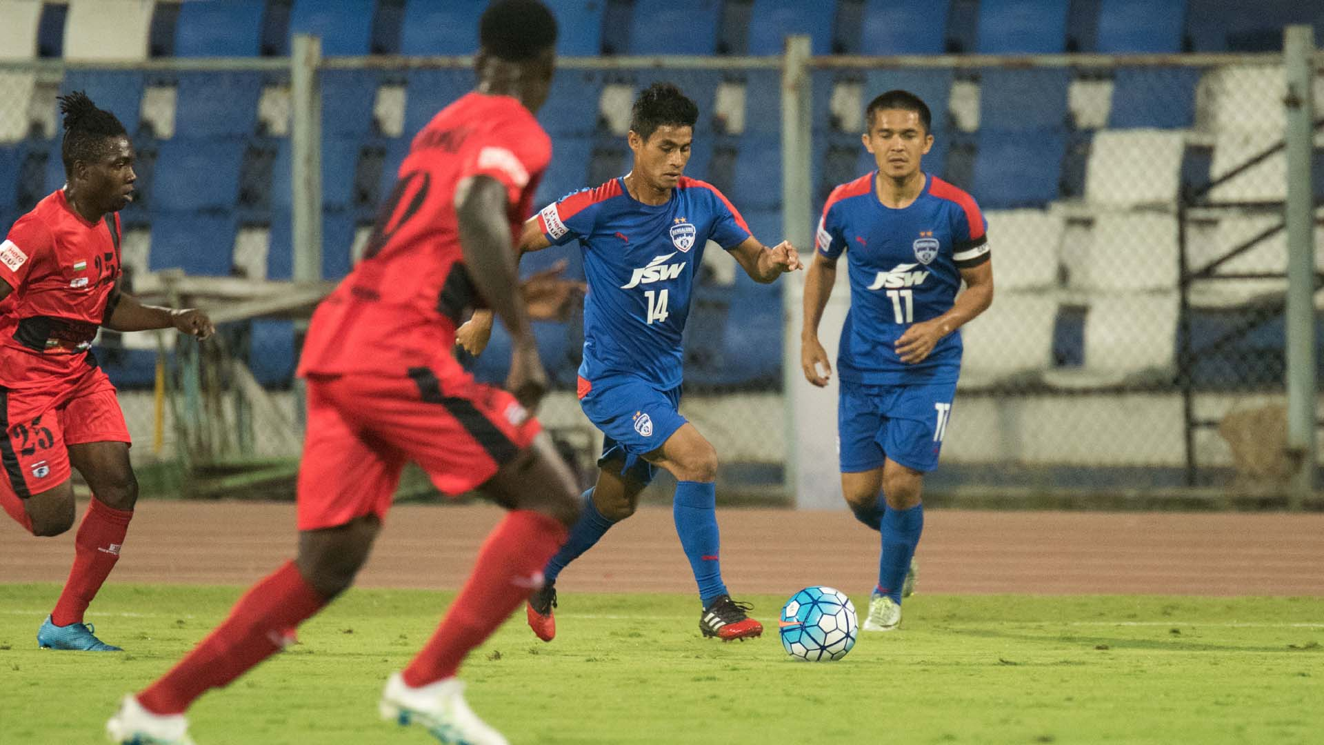 Eugeneson Lyngdoh Bengaluru FC Minerva Punjab FC I-League 2017