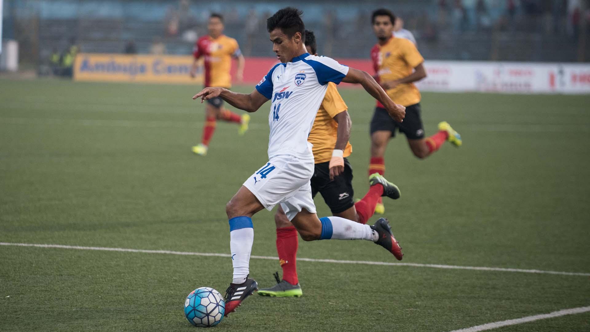 Eugeneson Lyngdoh East Bengal Bengaluru FC I-League 2017