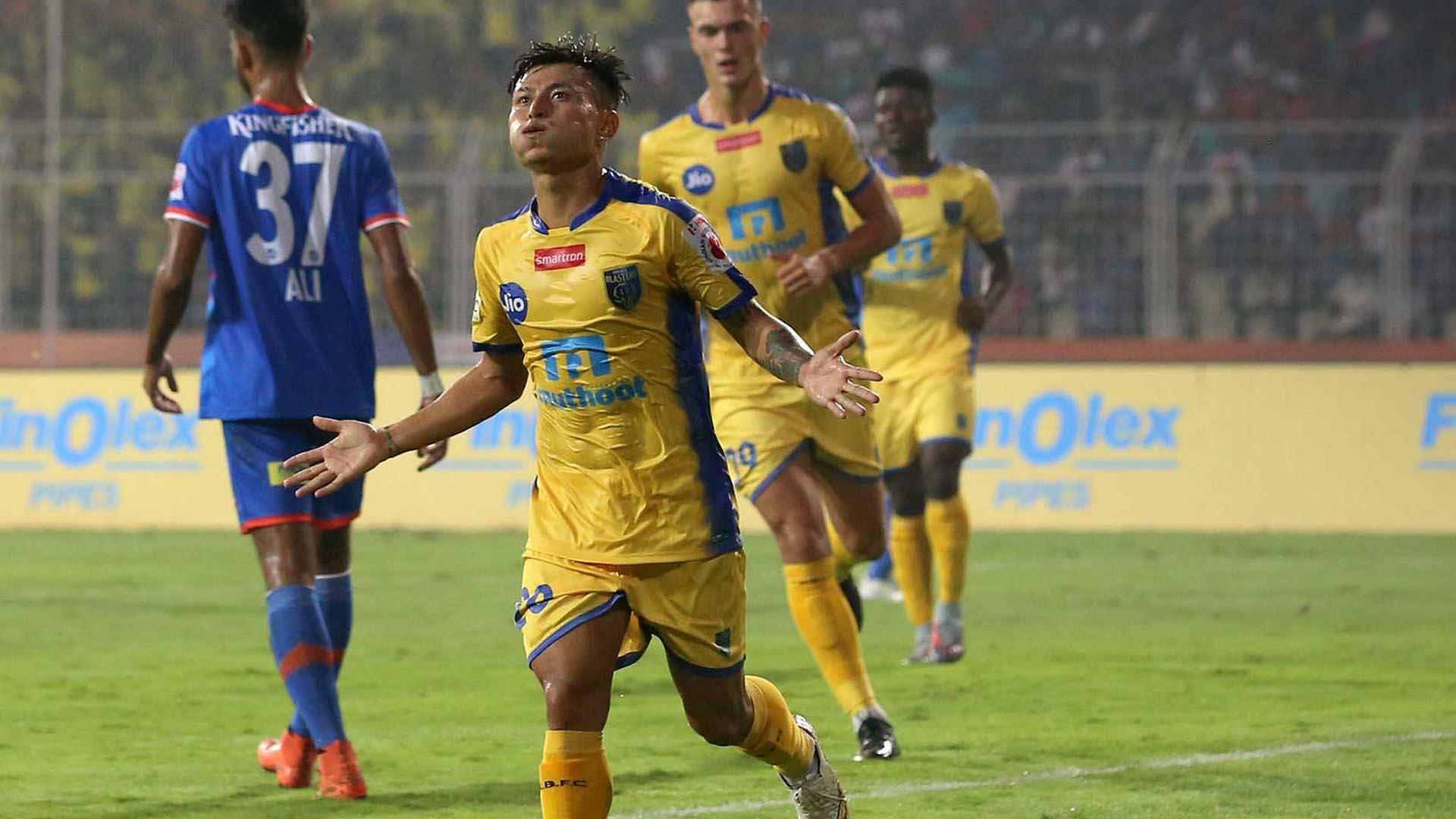 Jackichand Singh FC Goa Kerala Blasters FC ISL 4 2017/2018