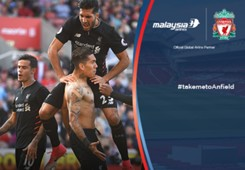 Malaysia Airlines Stoke - Liverpool Infographic