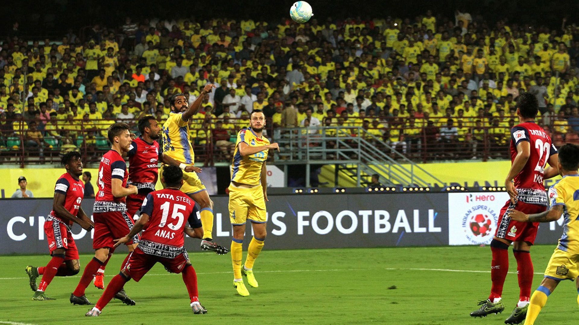 Kerala Blasters FC Jamshedpur FC ISL Season 4 2017/2018