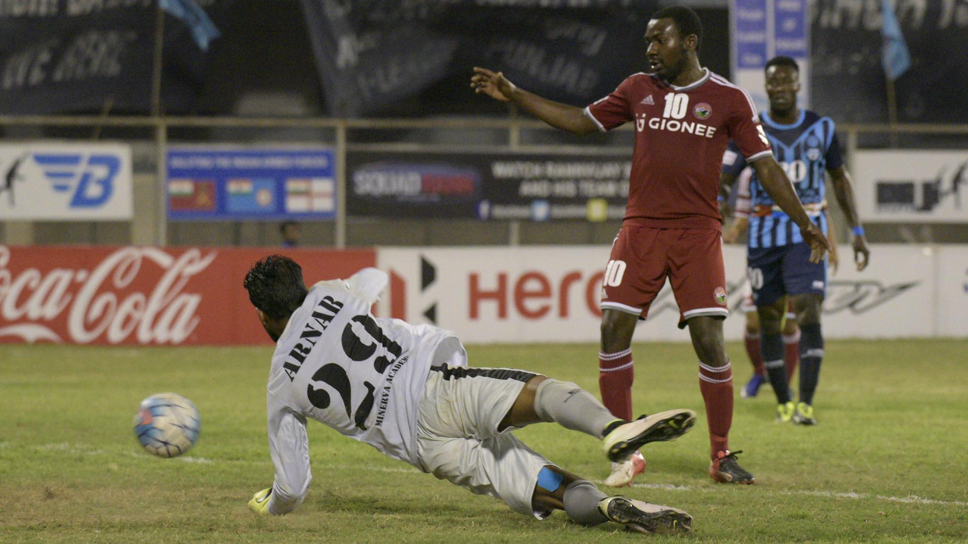Dipanda Dicka Minerva Punjab FC Shillong Lajong FC I-League 2017