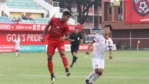 Wayne Vaz Samuel Lalmuanpuia Churchill Brothers Shillong Lajong FC I-League 2017/2018
