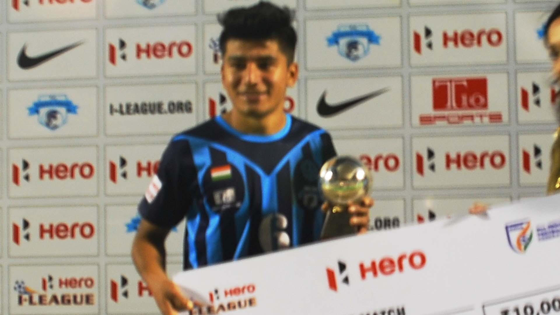 Anirudh Thapa Minerva Punjab FC Mumbai FC I-League 2017