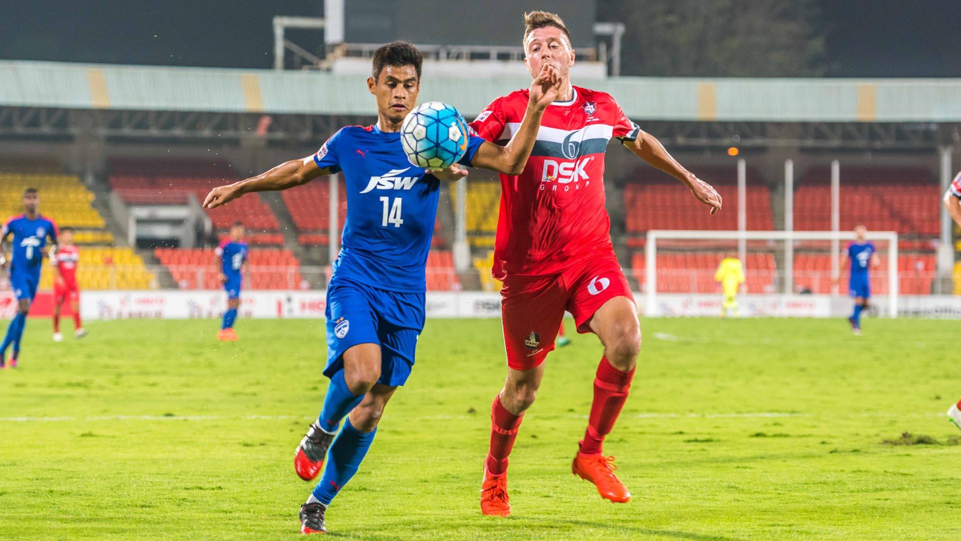 Eugeneson Lyngdoh Shane McFaul DSK Shivajians FC Bengaluru FC I-League 2017