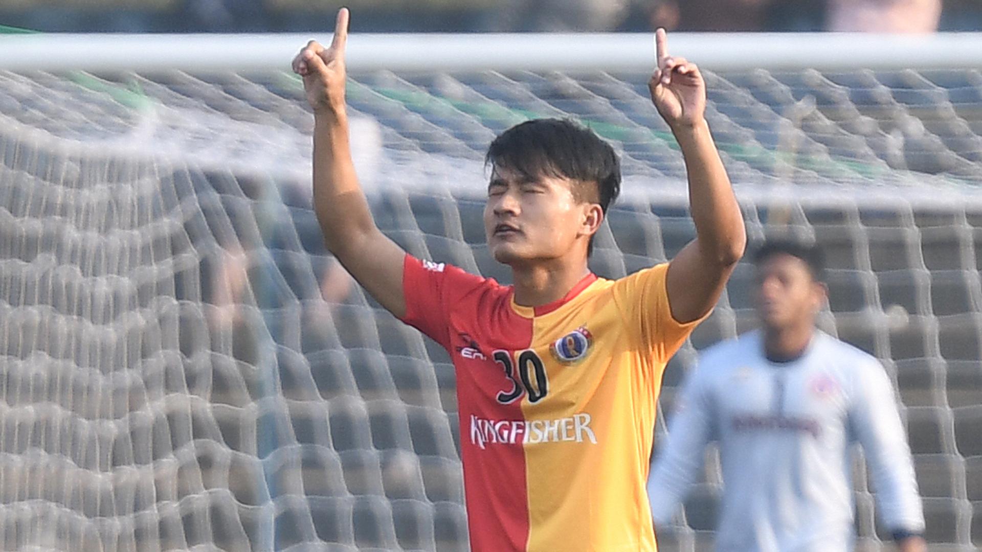 Brandon Vanlalremdika East Bengal Minerva Punjab FC I-League 2017/2018
