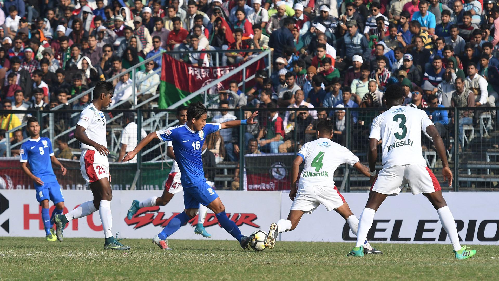 Nongdamba Naorem Mohun Bagan Indian Arrows I-League 2017/2018