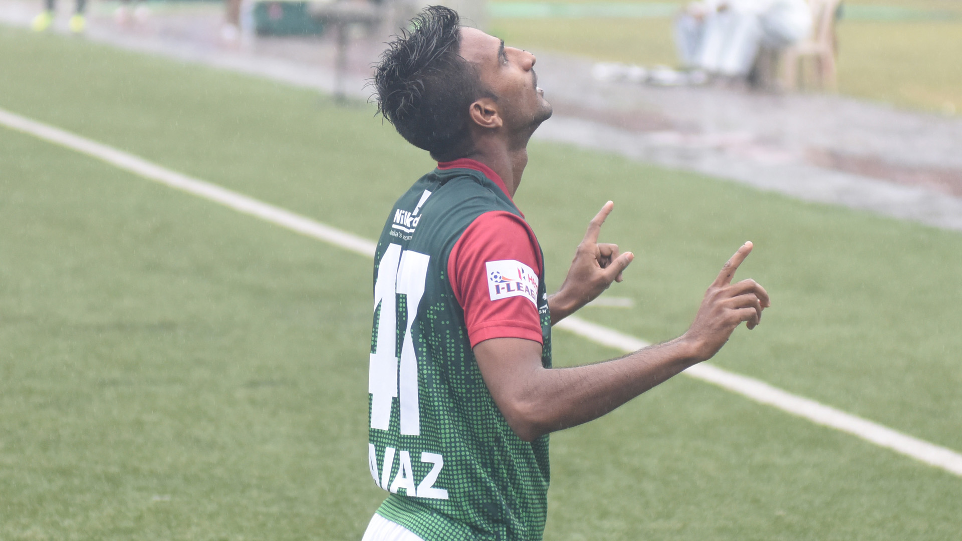 Sk.Faiaz Mohun Bagan Churchill Brothers SC I-League 2017/2018