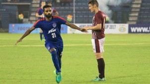 CK Vineeth Bengaluru FC Mohun Bagan Federation Cup Final 2017