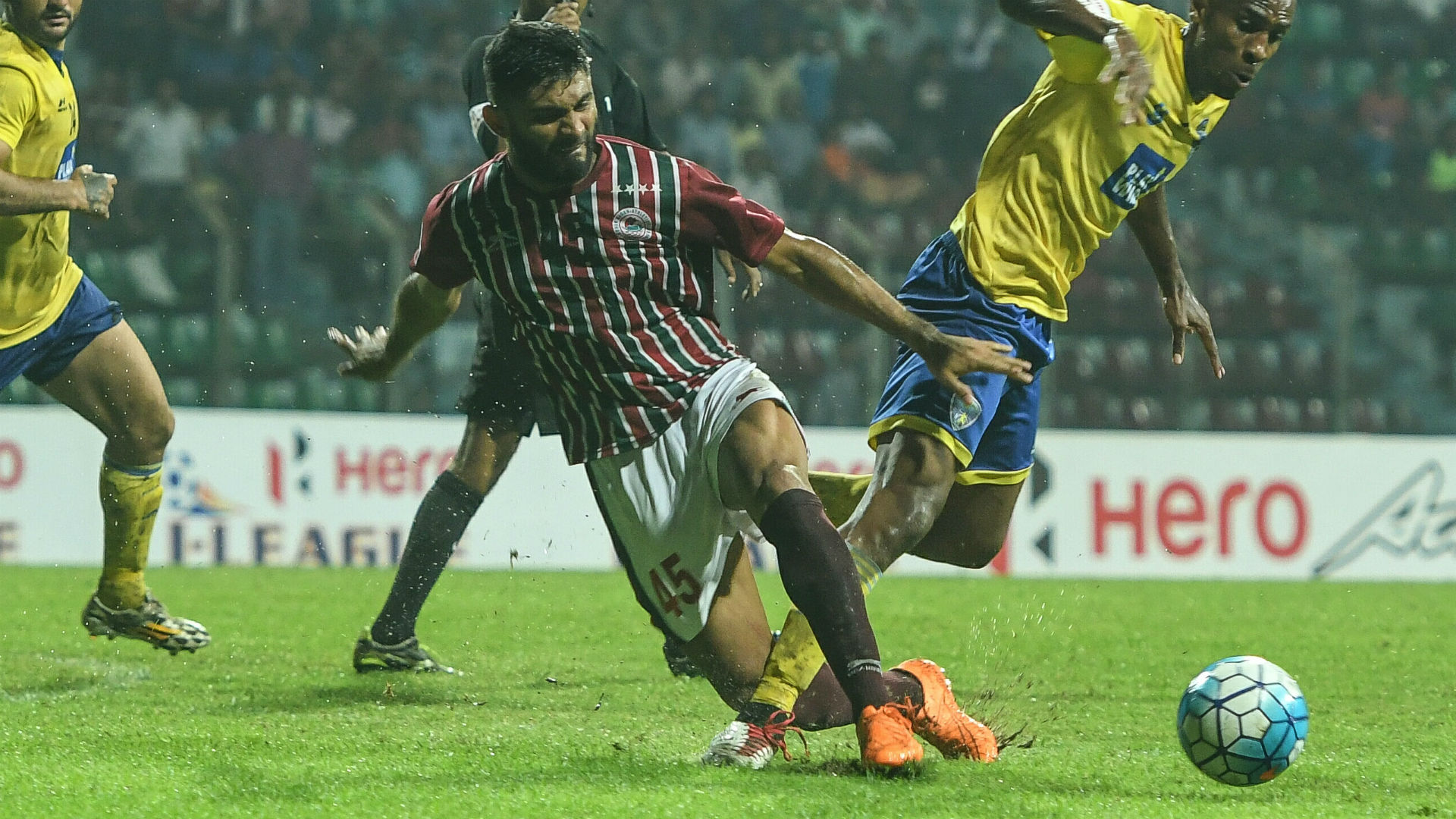 Anas Edathodika Mohun Bagan I-League 2017