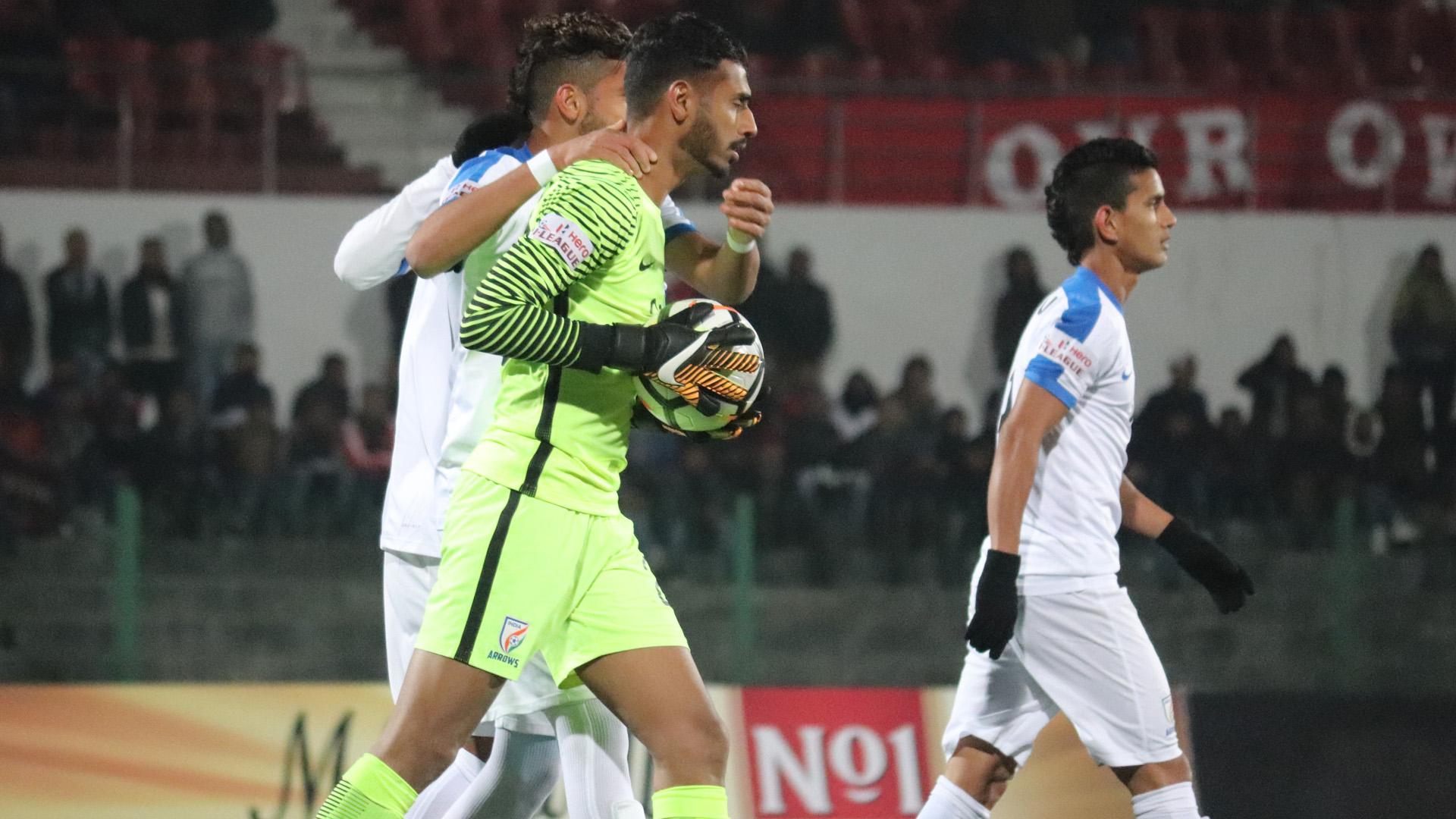 Prabhsukhan Gill Shillong Lajong FC Indian Arrows I-League 2017/2018