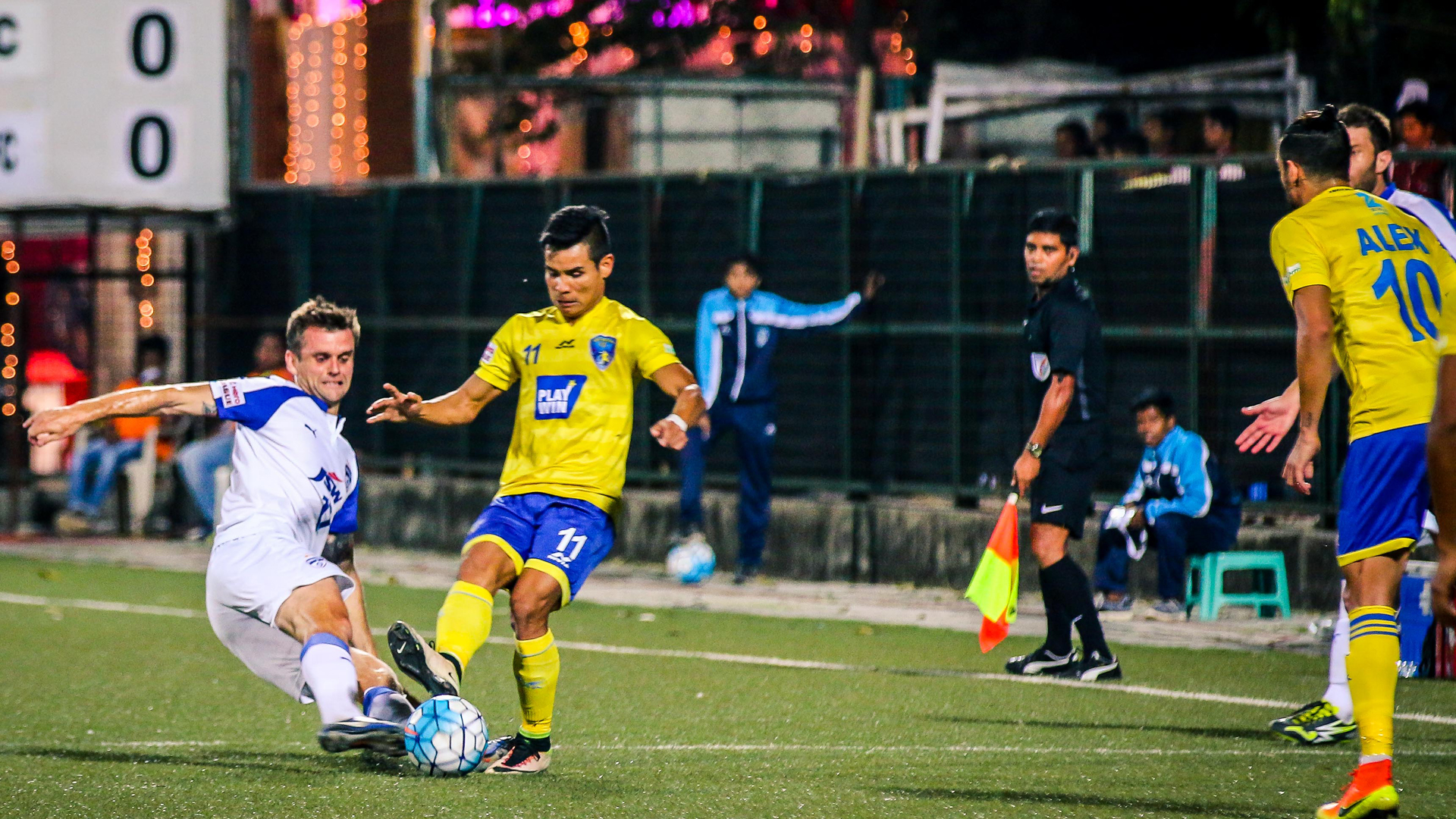 Mumbai FC Bengaluru FC I-League 2017