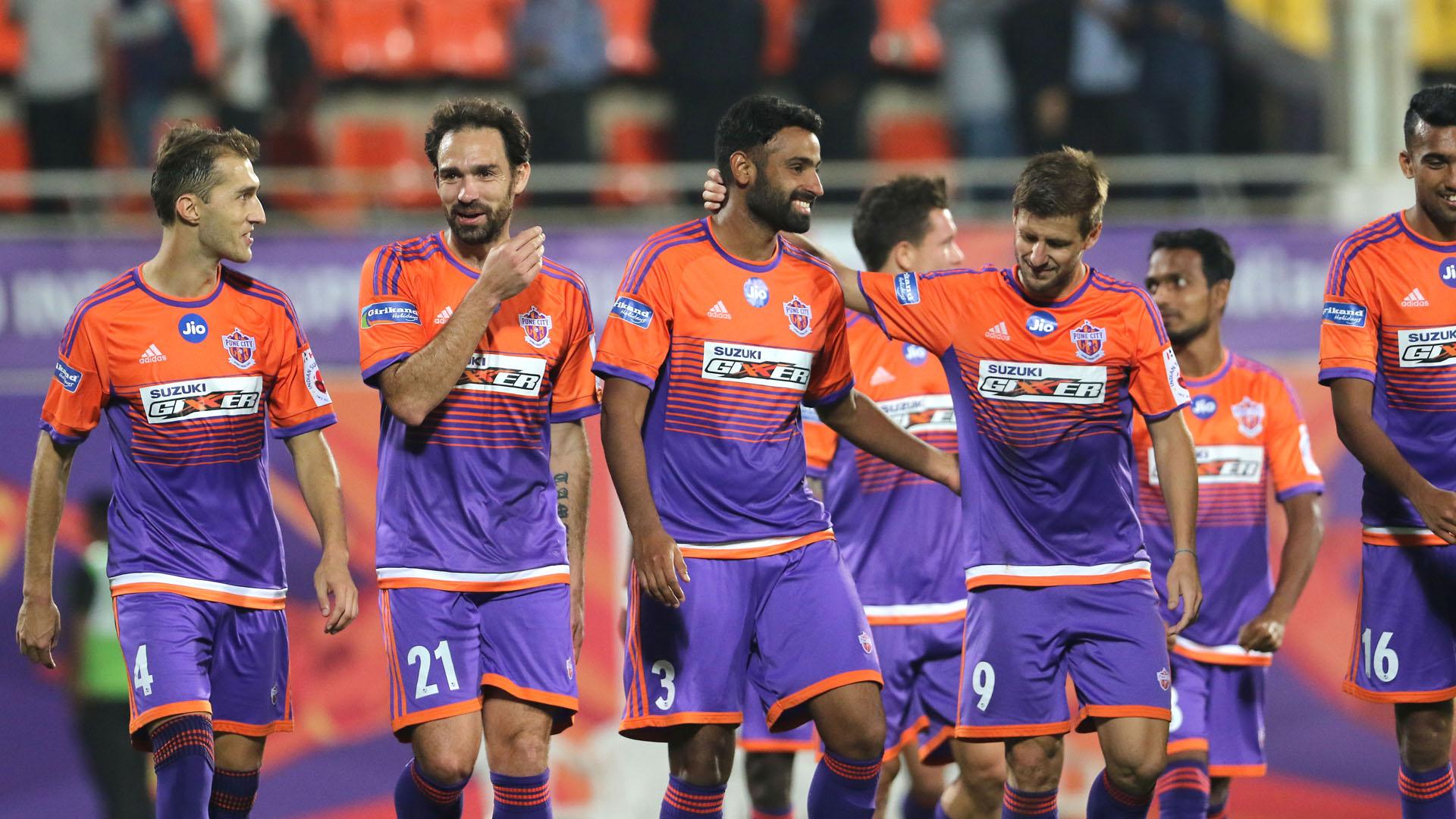 FC Pune City ATK ISL 4 2017/2018