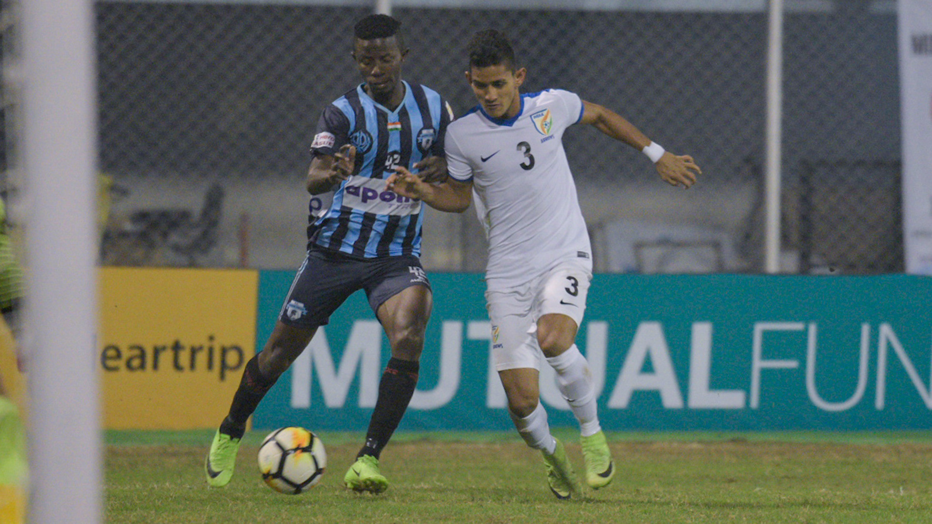William Asiedu Jitendra Singh Minerva Punjab FC Indian Arrows I-League 2017/2018