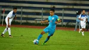 Sunil Chhetri India Kyrgyzstan Asian Cup Qualifier 2017