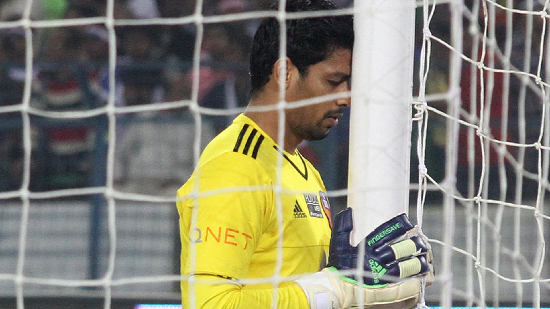 Laxmikant Kattimani Atletico de Kolkata FC Goa ISL season 2