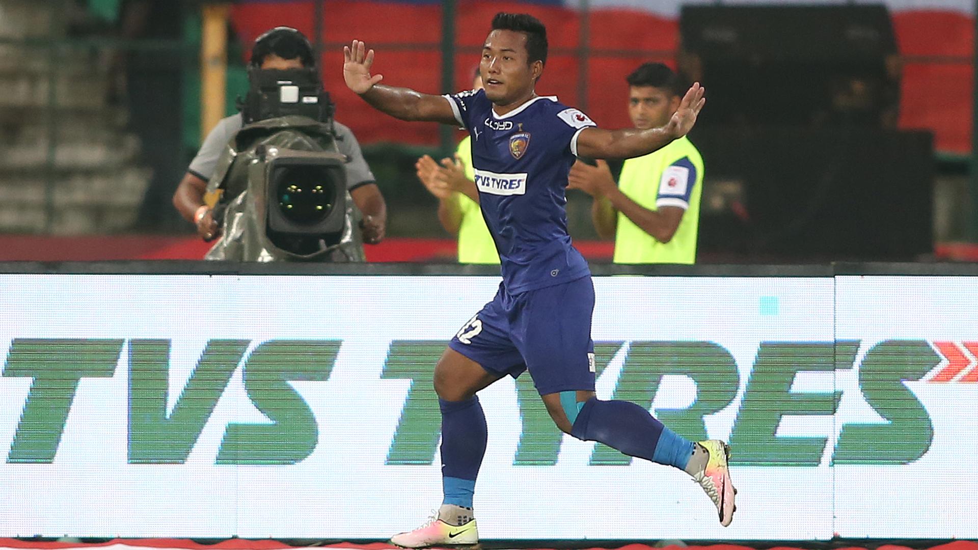 Jeje Lalpekhlua Chennaiyin FC Mumbai City FC ISL season 3 2016