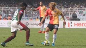 Yusa Katsumi Mohun Bagan East Bengal I-League 2017/2018