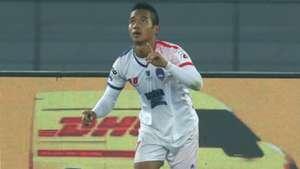 Lallianzuala Chhangte Delhi Dynamos FC Bengaluru FC ISL 4 2017/2018