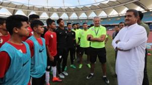 Praful Patel Indian U-17 World Cup Squad