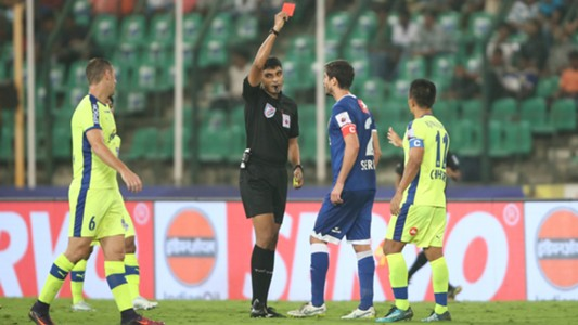 Henrique Sereno Chennaiyin FC Bengaluru FC ISL 4 2017/2018