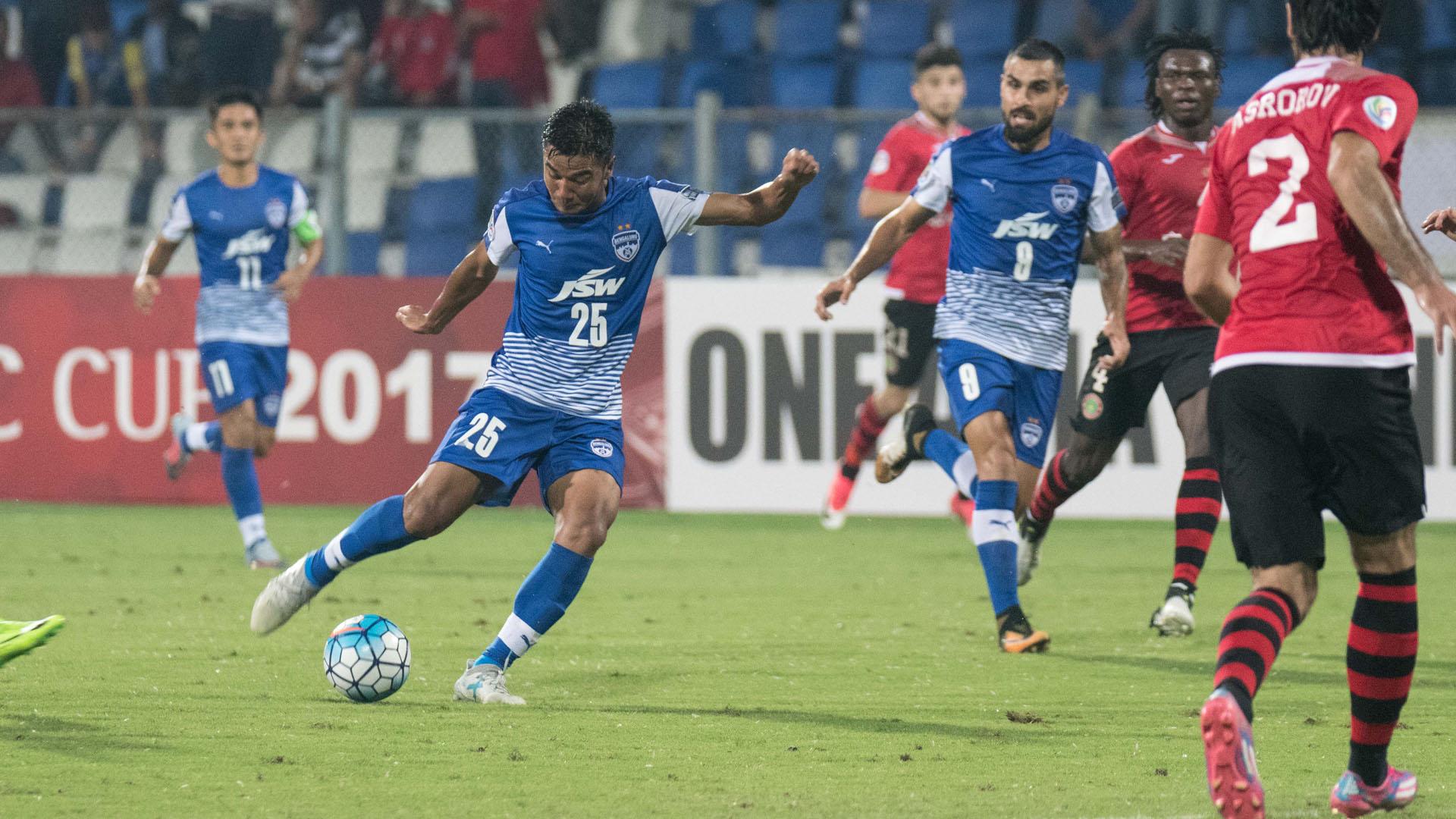 Daniel Lalhlimpuia Bengaluru FC Istiklol FC AFC Cup Final 2017