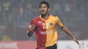 Nikhil Poojari East Bengal Chennai City FC I-League 2017