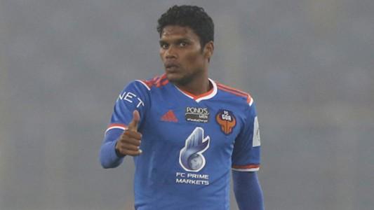Romeo Fernandes Delhi Dynamos FC FC Goa ISL season 2