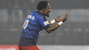Peter Omoduemuke East Bengal Churchill Brothers I-League 2017/2018