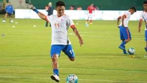 Sunil Chhetri Indian National Team training session