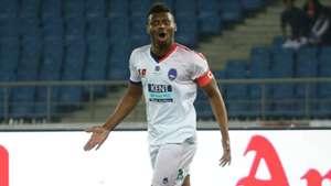 Kalu Uche Delhi Dynamos FC Jamshedpur FC ISL season 4 2017/2018