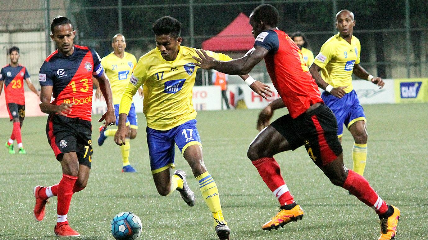 Farukh Choudhary Mumbai FC Chennai City FC I-League 2017