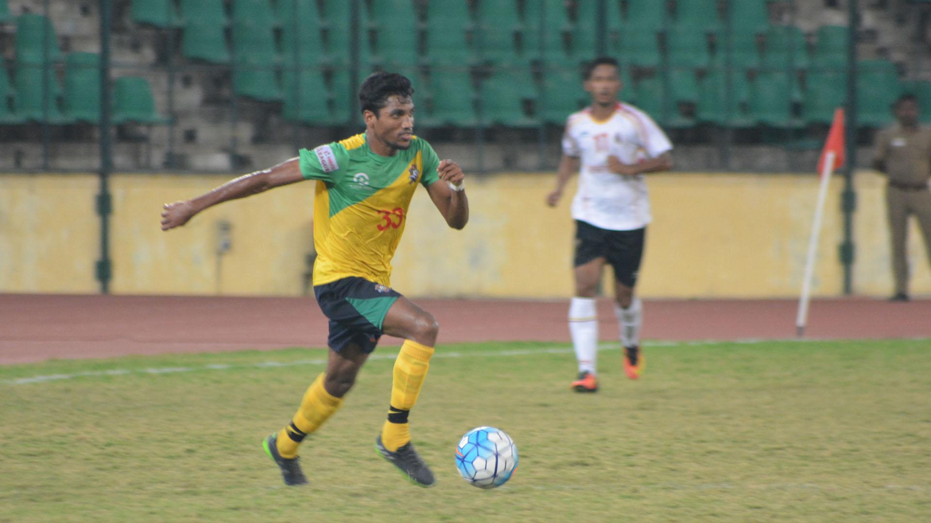 Nandakumar Chennai City FC East Bengal FC I-League 2017