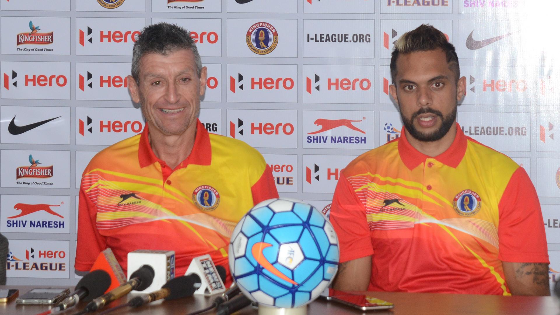 Trevor Morgan Robin Singh East Bengal I-League 2017