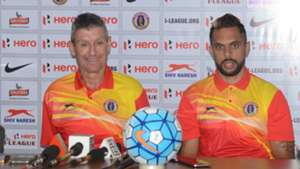 Trevor Morgan Robin Singh East Bengal I-League 2017